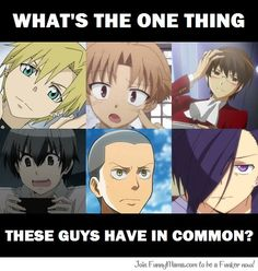 He voice acts all of them