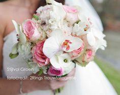 Bruidsboeket orchidee romantisch Stijlvol Groen(2).jpg