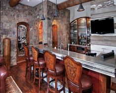 Basement Bar Ideas - No matter if you're catching up with friends, seeing the game, or perhaps searching for a nice location to take a break, having