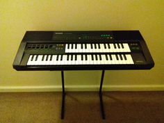 Casio DM-100 Keyboard / Sampler from 1987.
