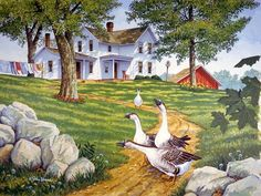 """The Welcoming Party,""  artist, John Sloane"