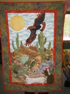 JoAnn's parable quilt.