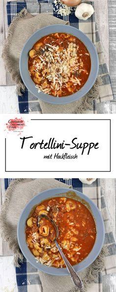 Tortellini-Suppe mit Hackfleisch   Kochen   Rezept   Pasta   Weight Watchers