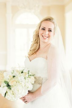 Southern Savvy Events | Bridal Portraits | Bridal Bouquet | Hydrangea | Mint | Ivory | Blush | Wedding Gown | Wedding Attire | Bride Style | Wedding Accessories | Wedding Details | Wedding Planning | Wedding Inspiration