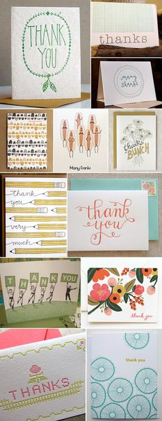 champaign paper has a wide selection of thank you cards for any