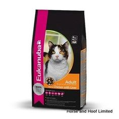 Eukanuba Cat Adult Chicken Food 400g The Vital Health System of Eukanuba cat food is a special combination of ingredients and nutrients that supports  the six most important feline body functions with every meal: