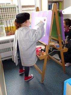 Atelier in de klas, thema kunst voor kleuters, kleuteridee.nl , Art theme preschool.2