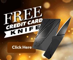 Get This $15 Credit Card Knife FREE!