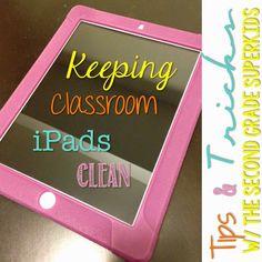 Bright Ideas: Keeping Classroom iPads Clean