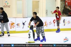 We have #World Class Training Facility and Skilled staffs to train the Kids and Youngsters. Come and enjoy at #Sharjah's largest #Ice #Skating Rink at #AlshaabVillage  .. #UAE #Fun #Shopping #Happiness