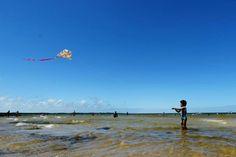 Lagoa Bacopari tem águas limpas e calmas no litoral gaúcho Bruno Alencastro/Agencia RBS