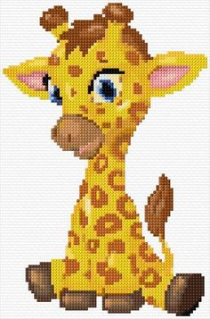 Süße Giraffe Growing Beautiful Flowers From Bulbs When most people think of bulbs they often think o Baby Cross Stitch Patterns, Cross Stitch Baby, Cross Stitch Animals, Cross Stitch Charts, Cross Stitch Designs, Cross Stitching, Cross Stitch Embroidery, Embroidery Patterns, Hand Embroidery