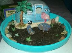 s 13 awesome ways to reuse a terra cotta saucer, container gardening, gardening, repurposing upcycling, Fill a saucer with a fairy garden