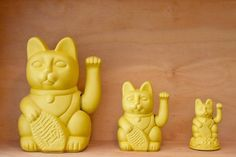 modern chinese fortune cats! <3 michal