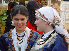 The female costume in the region of Karpaz, North Cyprus