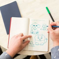 Check out what happened when we asked millennials to put pen to paper for a whole week. #sponsored