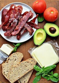 Turkey Bacon and Avocado Grilled Cheese sandwich.  Recipe at TidyMom.net