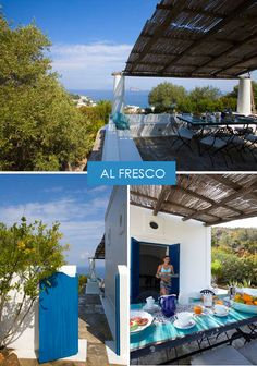 a summer home on panarea | THE STYLE FILES