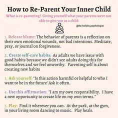Inner Child Healing, Self Healing, Mental And Emotional Health, Self Care Activities, Les Sentiments, Self Improvement Tips, Coping Skills, Self Development, Self Help
