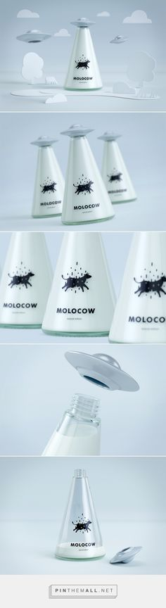 Molocow - milk package concept on Behance - created via https://pinthemall.net