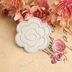 Beauty Lovely Flowers big shot die cuts metal die cutting dies STENCILS SCRAPBOOKING tool embossing folder RZ-003