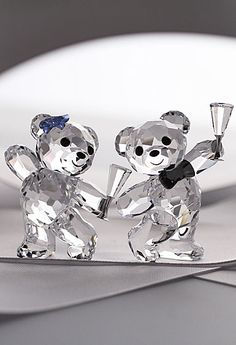 Swarovski Kris Bear Let's Celebrate
