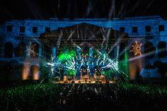 Opening Concert in Pula's Roman amphitheatre, Outlook Festival 2013 Outlook Festival, Concert Stage, Pula, Croatia, Festivals, Seaside, Roman, Shots, Culture