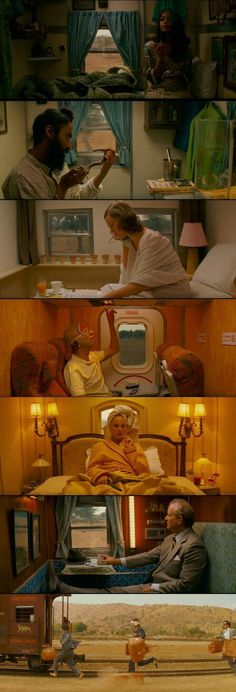 """Wes Anderson is known as a cinematography master for obvious reasons, as these stills from """"Darjeeling Limited"""" demonstrate. Cinematic Photography, Film Photography, Film Composition, Francis Wolff, Wes Anderson Movies, Stanley Kubrick, Movie Shots, Film Studies, Film Inspiration"""