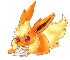 Pokemon shaming- Flareon
