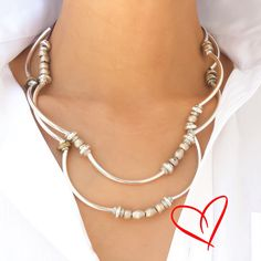 With Lizzy James jewelry, have the versatility of a wrap bracelet & necklace at your fingertips.  Each wrap is handmade in our studio in California.  Petite to Plus Size Available. #LizzyJames