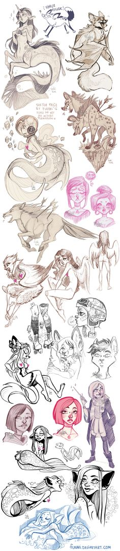 sketch dump of randomness by Fukari on DeviantArt