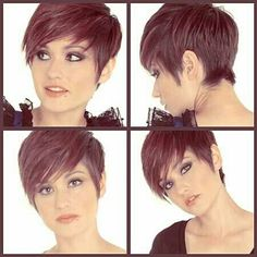 After my sisters wedding my hair will be this short again. I like this one :-)