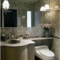 bathroom banjo countertop | Private Residence, NY Renovation of four existing bathrooms and family ...