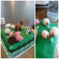 Gårdsdyrkake Cake, Desserts, Food, Tailgate Desserts, Deserts, Kuchen, Essen, Postres, Meals