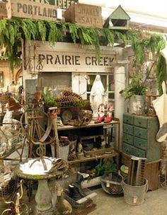 Antique shops ~ a favorite past time....me too!!!