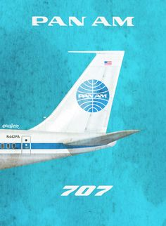 Pan Am 707, by Rick Aero