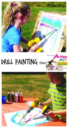 Use a drill to PAINT !