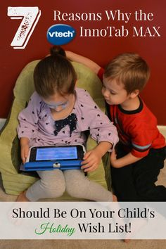 Vtech InnoTab MAX looks like a great toy for Christmas!