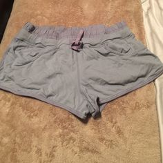Super Cute Lululemon Shorts  These Super Cute Lululemon shorts are great for Spring/Summer weather. Can be worn in gym, as a cover up for bikini bottoms, or just to lounge around in  Drawstring and wide waistband. ✖️ Stains ✖️ Odors ✖️ Holes/Tears lululemon athletica Shorts