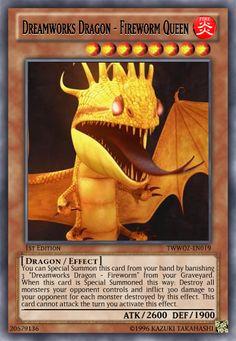 Dreamworks Dragon - Fireworm Queen by LightKeybladeMaster.deviantart.com on @deviantART