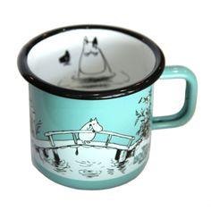 The Moomin Shop Exclusive Enamel Mug | The Moomin Shop