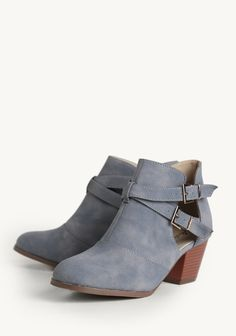 I am so sad they don't have these in my size!!!! Artistic Touch Booties at #Ruche @Ruche