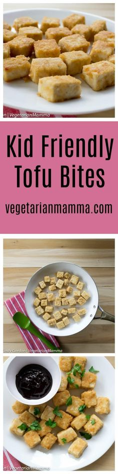 Kid Friendly Tofu Bites are a perfect meal for busy Back To School nights. These tofu bites are kid approved.