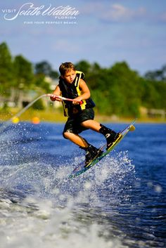 Whether it's wakeboarding on Choctawhatchee Bay, laying out by the Gulf or riding horseback through Point Washington State Forest, we love a day outdoors in Santa Rosa Beach!