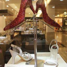 """Um pouco da exposição """"A História do Sapato"""" no Pátio Savassi. Vem!"""