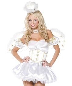 Magical Luxury Angel fancy dress Costume by Smiffy`s costumes. Available sizes: Small, Medium or Large. Worldwide shipping from Ireland.Fantastic Costume and extremely well finished. Halloween Party Kostüm, Angel Halloween Costumes, Fairy Tale Costumes, Joker Costume, Christmas Costumes, Adult Costumes, Adult Halloween, Angel Outfit, Angel Dress