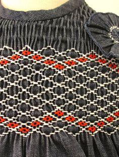 vestido de jeans detalle | Flickr - Photo Sharing!
