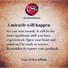 Affirmations Positives, Wealth Affirmations, Manifestation Law Of Attraction, Law Of Attraction Affirmations, Manifestation Journal, Secret Law Of Attraction, Law Of Attraction Quotes, Secret Quotes, Believe In Miracles