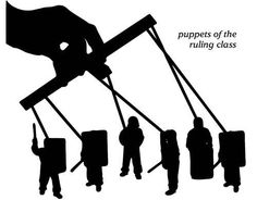Puppets of the ruling class   Anonymous ART of Revolution