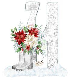 Alphabet, Floral, Monograms, Plants, Letters, Alpha Bet, Flowers, Plant, Monogram